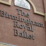 The Birmingham Royal Ballet - Thorp Street, Birmingham - sign