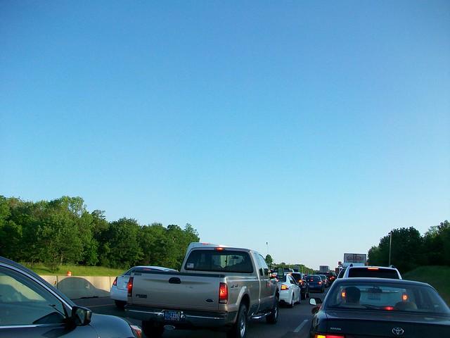 traffic on 75