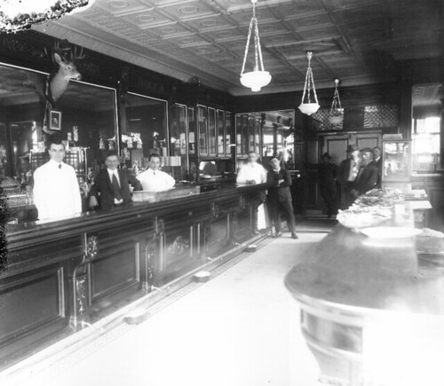 Unidentified Saloon, College Point, ca. 1905