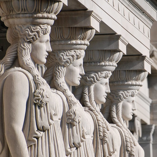 Caryatid columns flickr photo sharing