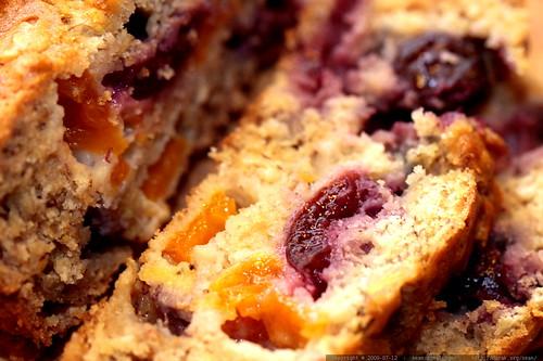 cherry apricot banana bread