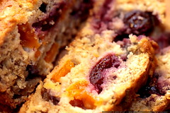 cherry apricot banana bread