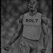 Usain Bolt, Text Portrait
