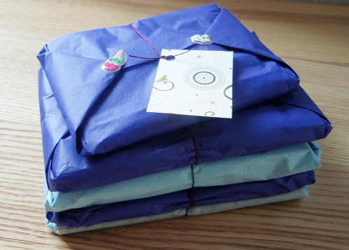 Fabric swap with Parallel Botany ready to go!