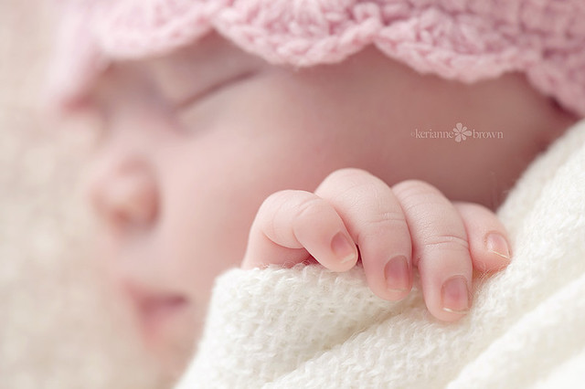 Baby as Art - Newborn Kids Photography