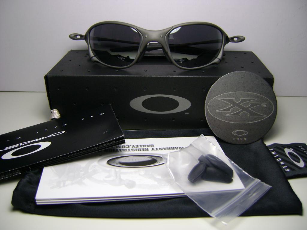 oakley x metal xx  Oakley XX X-Metal Black Iridium - a photo on Flickriver