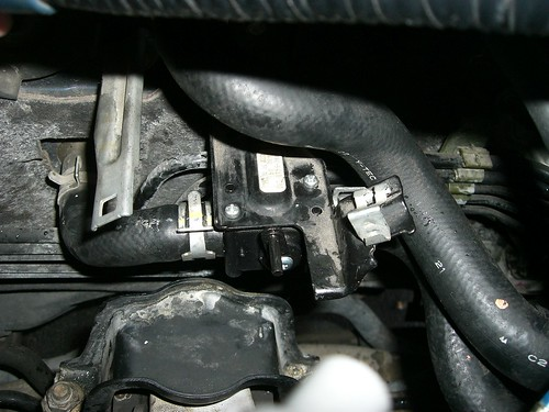 honda pilot heater control valve location