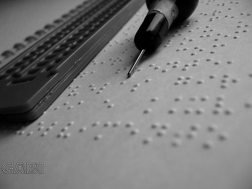 Braille/Inclusão