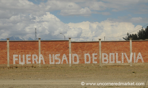 USAID Out of Bolivia - La Paz, Bolivia