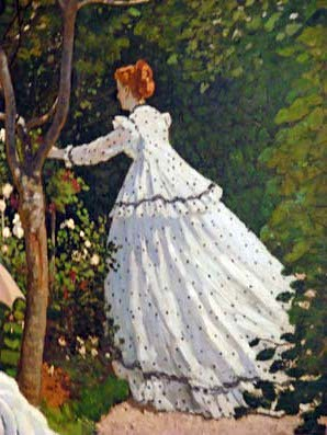 Paris mus e d 39 orsay claude monet femmes au jardin for Au jardin paris