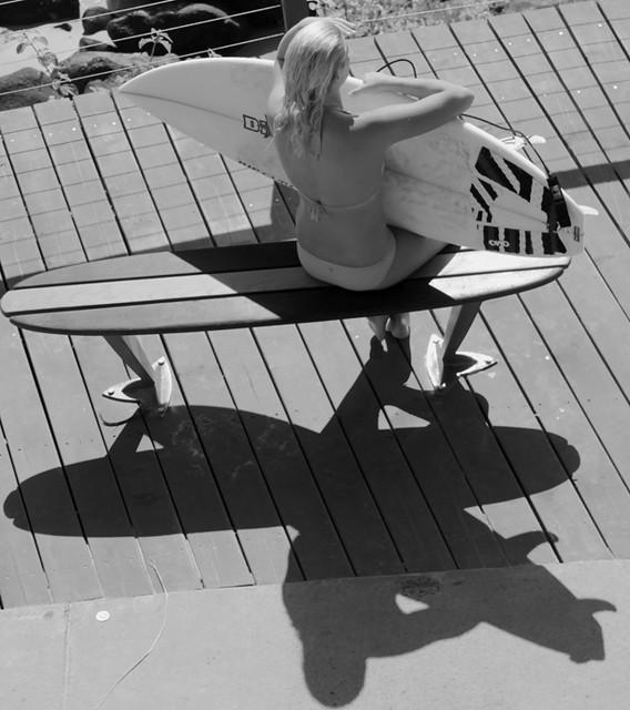 Make Surfboard Bench
