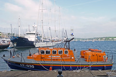 Lizard Lifeboat (RNLI David Robinson) at Falmouth