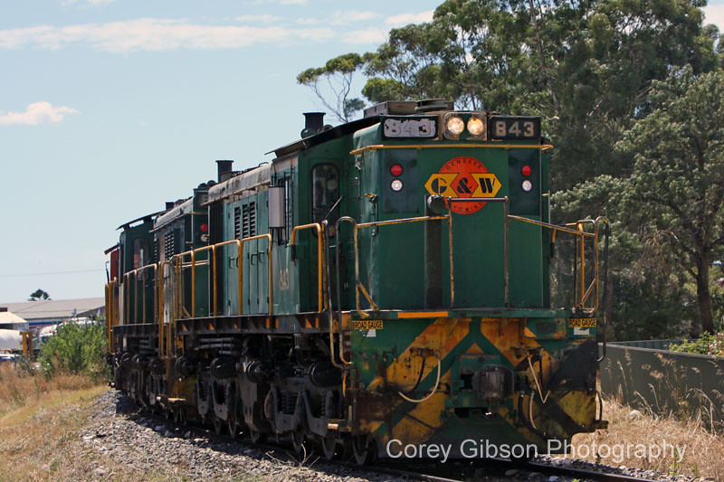 843, 841 & 844 at Nurioopta by Corey Gibson