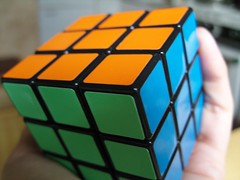 play(0.0), puzzle(1.0), rubik's cube(1.0), mechanical puzzle(1.0), toy(1.0),