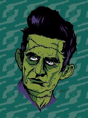 zombie-johnny-cash | Zombie Johnny Cash by Nik Scarlett ...