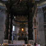 The Papal Altar and the Confessio