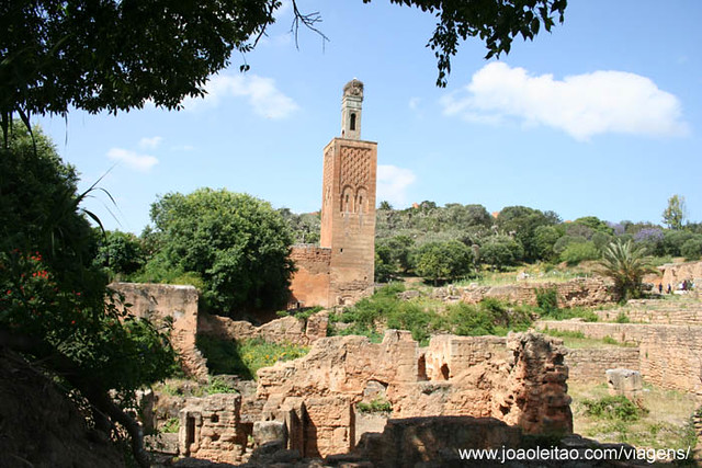 Chellah, Necropolis in Oued Bou Regreg, Rabat Morocco