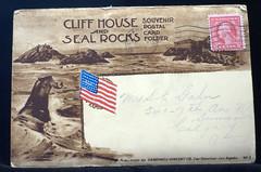 1909 Cliff House Folding Postcards