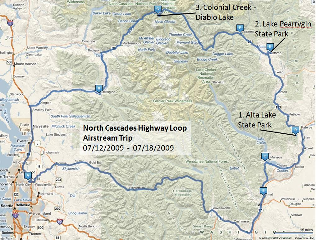 North Cascades Maps | NPMaps.com - just free maps, period. |North Cascades Highway Map