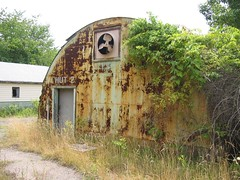 Quonset huts at DC Village
