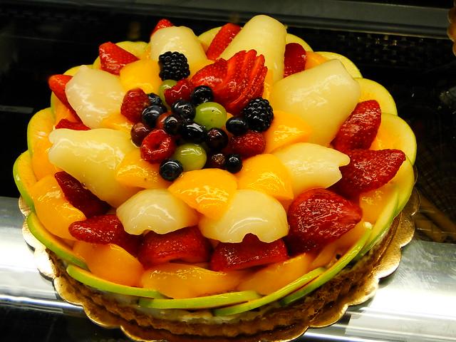 Fruit Tart Cake Porto