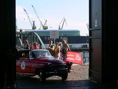 Rally 2009 Einfahrt der Oldies