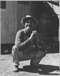 Olivehurst, Yuba County, California. Farmer, Born in Illinois, Farmed in Oklahoma, Brought His Family to California Where They Worked as Migrant Farm Laborers