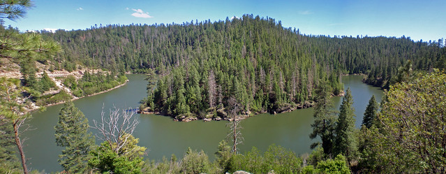 Panorama of blue ridge reservoir snaking around flickr for Lake blue ridge fishing