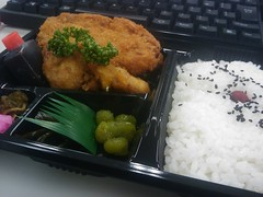meal, lunch, steamed rice, ekiben, food, dish, cuisine, bento,
