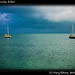 boats near Sarteneja, Belize