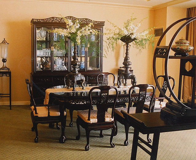 asian korean chinese dining room table interior design set flickr photo sharing. Black Bedroom Furniture Sets. Home Design Ideas
