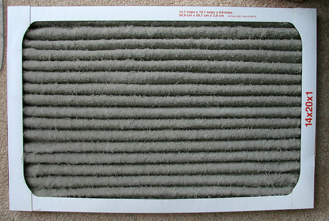 how to clean air filter