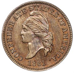 1861 Confederate Cent obverse