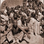 Boxer Prisoners Captured By 6th US Cavalry, Tientsin, China [1901] Underwood & Co [RESTORED]