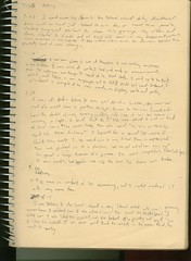 Summer '95 Dream Journal when I had mono