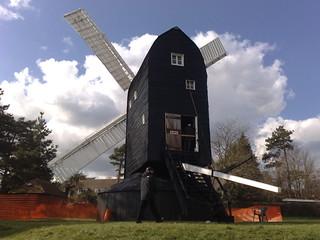 Image of High Salvington Windmill near Findon. cloud windmill worthing high highsalvington upcoming:event=5629467