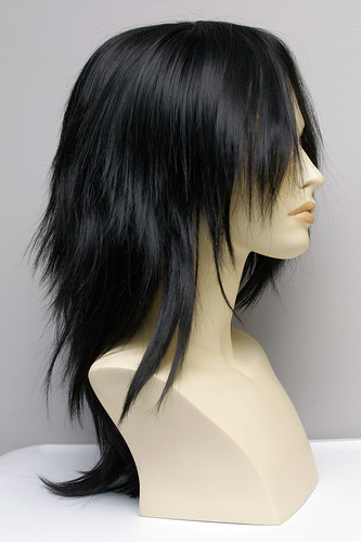 Arda Wigs : Jareth in Black 064