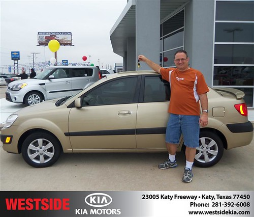 #HappyAnniversary to Mike B Crowder on your 2009 #Kia #Rio from Craig Connell  and everyone at Westside Kia! by Westside KIA