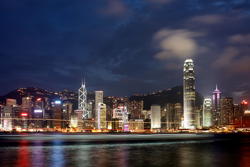 Night Vista of Victoria Harbor  维港夜景