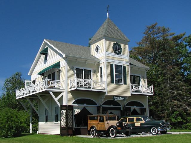 Hotel Pemaquid  1888  - Carriage House