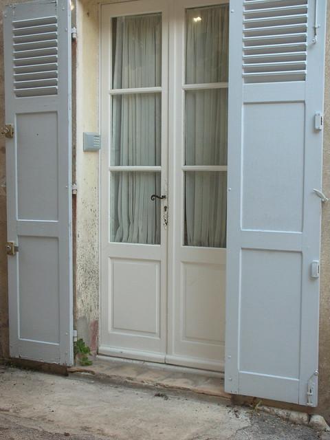Blue shutters!