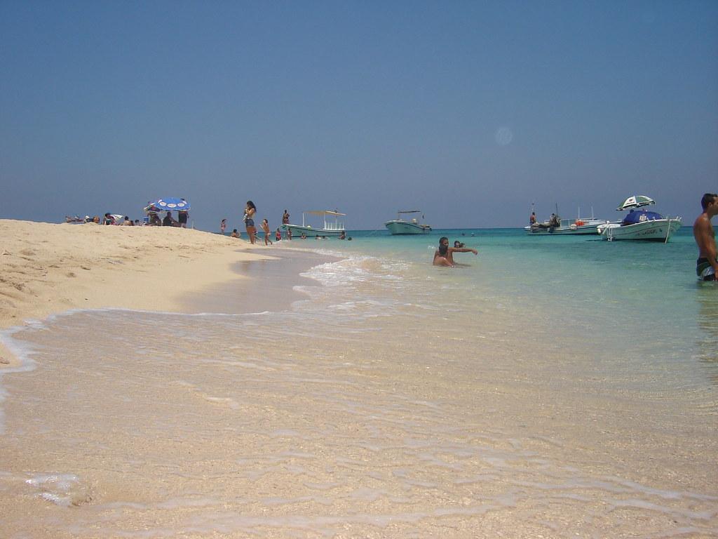 Palm or Rabbit Island Beach