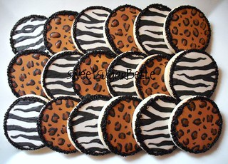 Mixed Animal Print Cookies
