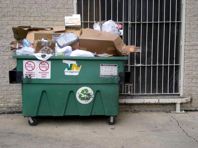 Suburban Squalor Loading Dock Dumpster Flickr Photo
