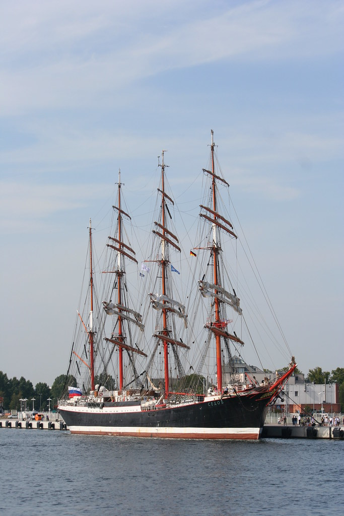 Sedov The Worlds Biggest Sailing Ship