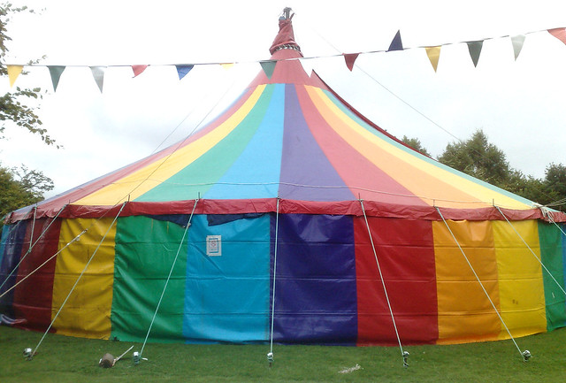 I want that RAINBOW tent! & Spectrum of Rainbows - a gallery on Flickr