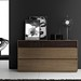 "Mazzali: ""SLIM"" chest of drawers / il comò SLIM"