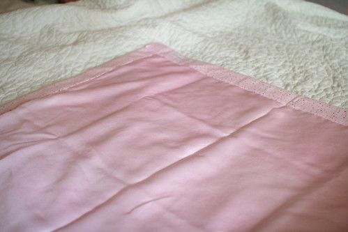 silk & flannel blanket