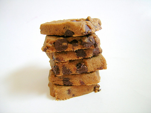 Espresso Chocolate Chip Shortbread Cookies | Flickr - Photo Sharing!