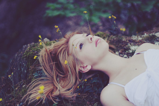 Portrait photography inspiration by Clara Nebeling